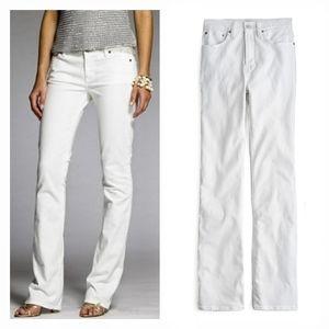 J. Crew | Classic White Bootcut Jeans | 31 Short
